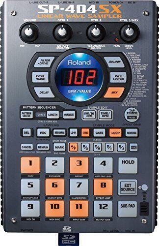 Roland Lineal Wave Sampler SP-404SX Compacto Sampler de Japón Nuevo en Caja