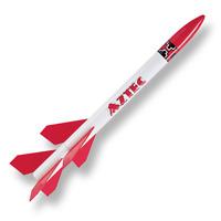 Aztec 2-stage Flying Model Rocket Kit (skill 2) - Custom Rocket Company 10026