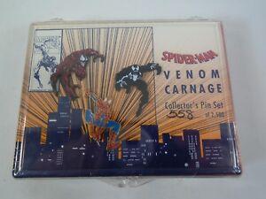 Spider-Man-Venom-Carnage-Collector-Pin-Set-Numbered-558-2500