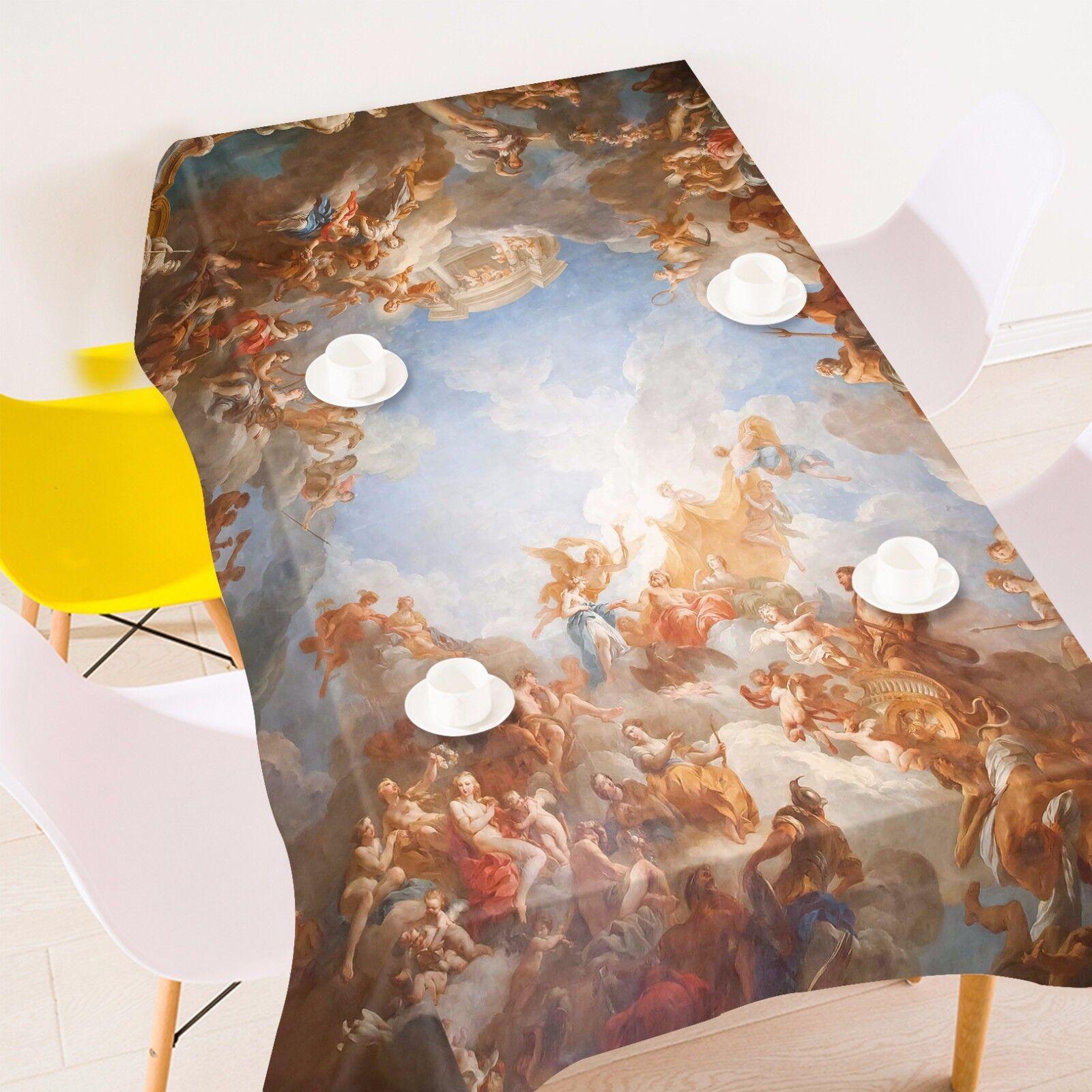 3D  Spiri 4585 Tablecloth Table Cover Cloth Birthday Party Event AJ WALLPAPER AU