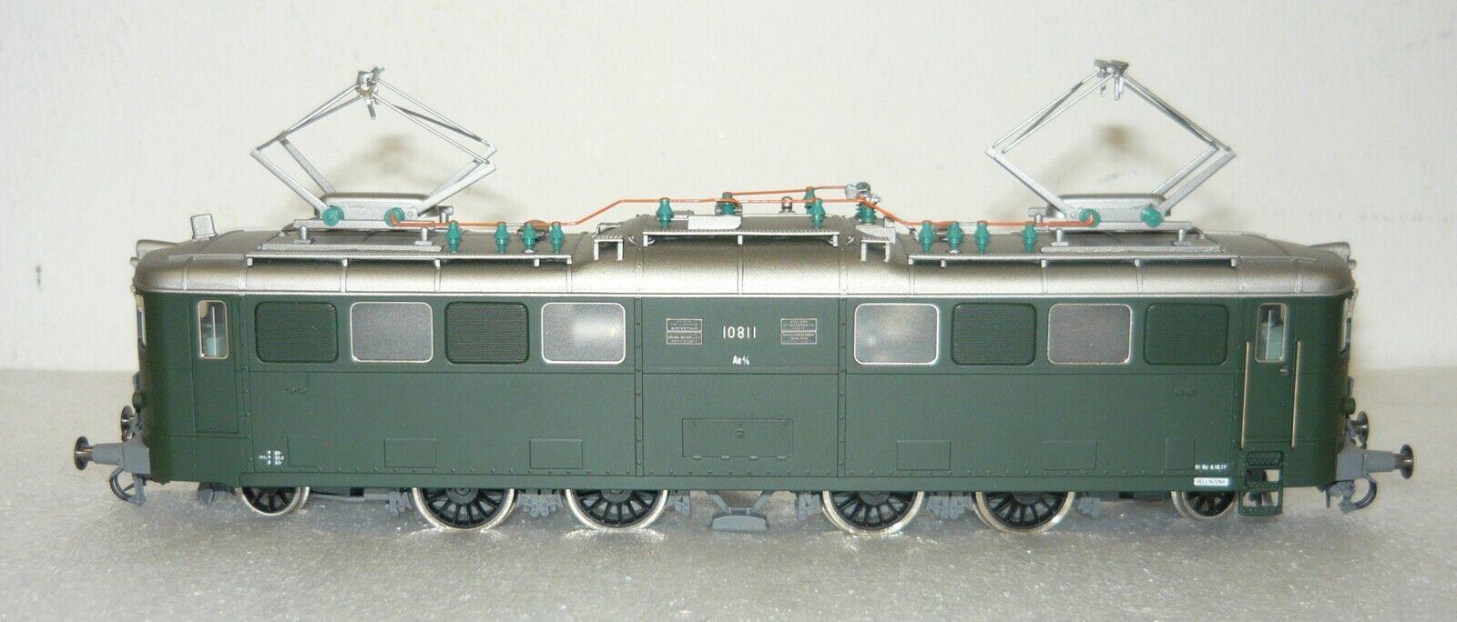 Lemaco ho-022 1, ellok AE 4 6 10811 de los SBB, latón-handarbeitsmod., h0, neu&ovp
