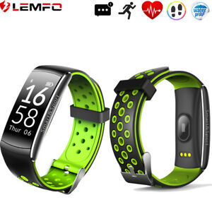 Lemfo Etanche Bluetooth 4.0 Montre Intelligente 2017 Pedometer Pour Android IOS