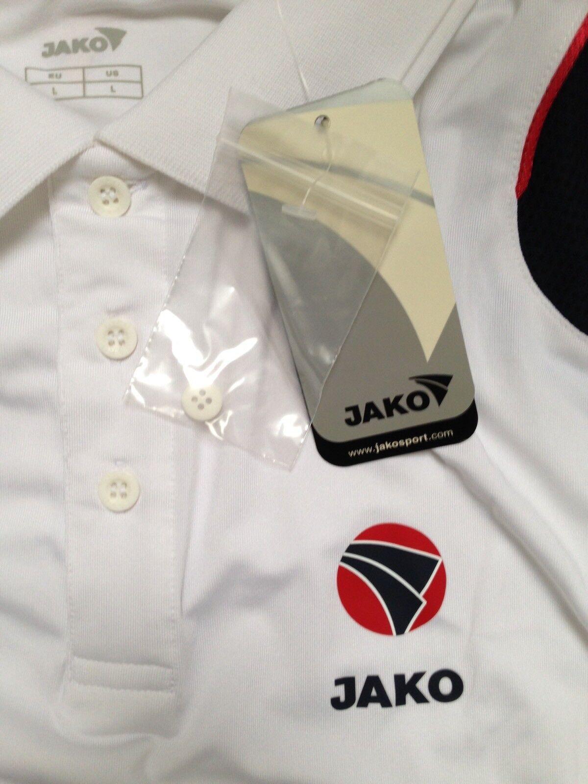 Zwei 'JAKO' Tennis Tennis Tennis Shirts Gr. L 80e339