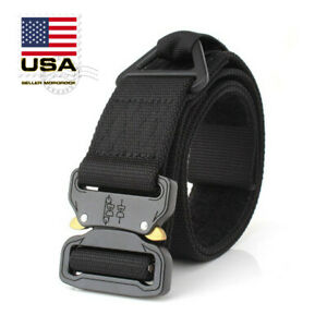 Tactical-Rigger-Belt-Nylon-Adjustable-Quick-Release-Buckle-Military-Airsoft-Belt