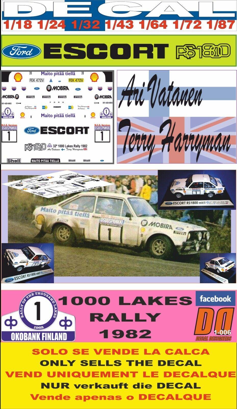 Ford Escort MKII-vatanen-Manx 82 Ixo