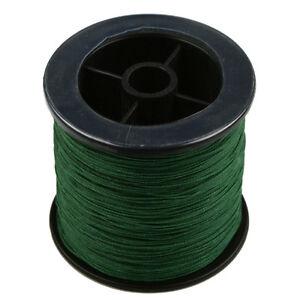 Moss Green 100-1000M 6-300LB 100% PE Dyneema Power Pro Super Braid Fishing Line