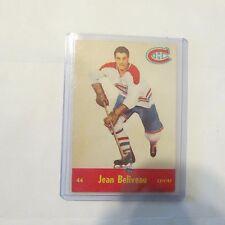 1955-1956 Parkhurst Jean Beliveau Montreal Canadiens #44 NM