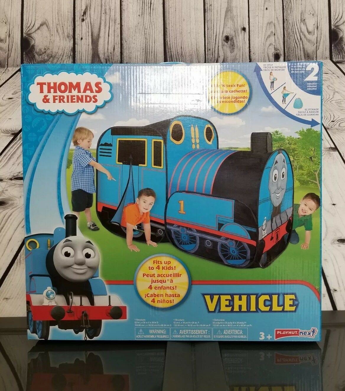 Thomas the Train Engine - Indoor Play Tent   Play Hut - Foldable Lichtweight