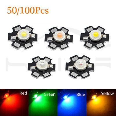 100pcs 3W cold white High Power Led Light Bead Chip 3 Watt 6000-6500k led chip