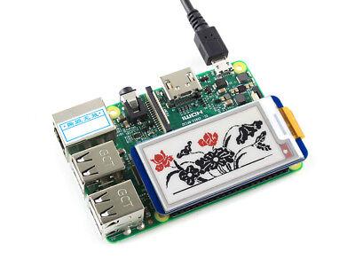 2.13inch E-lnk Hat SPI Interface e-paper Hat for Raspberry Pi  2B//3B//Zero//Zero W