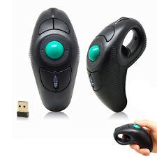 New Wireless Finger HandHeld USB Mice Trackball Mouse Tablet PC Laptop Desktop x