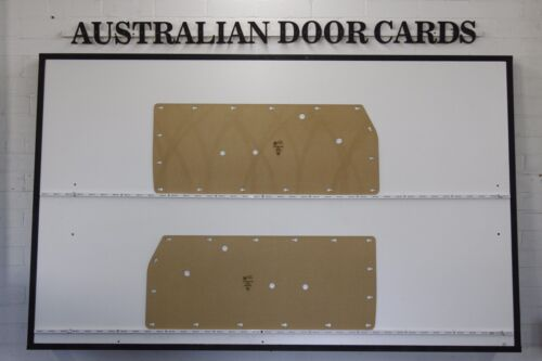 Blank Trim Panels Ford Escort MK1 Coupe /& Panel Van Door Cards Front Doors