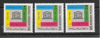 Motive Organisationen K672 Afghanistan/ Unesco Minr 984/86 **