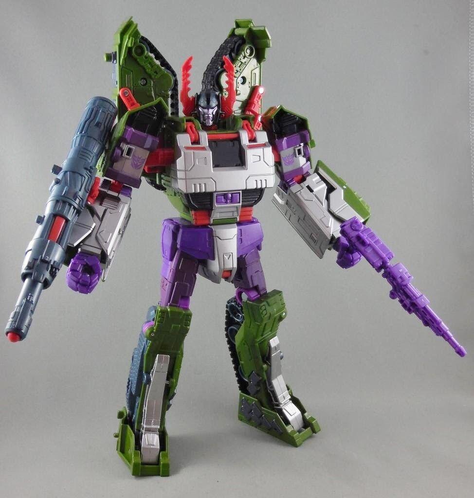 Transformers Combiner Guerre Armada Megatron Completo Capo Carroarmato