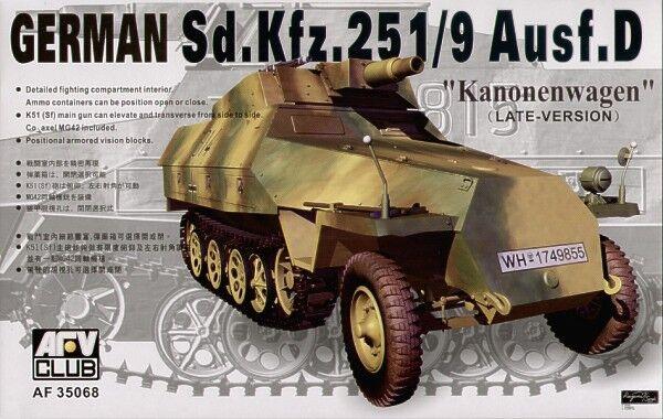 AFV Club 1 35 Sd.Kfz. 251 9 Ausf. D Kanonenwagen