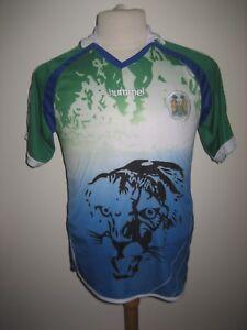Sierra-Leone-home-SLFA-football-shirt-soccer-jersey-maillot-trikot-rare-size-S