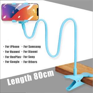 Phone Holder Lazy Bed Desktop Bracket Mount Stand For iPhone 12 Pro Max 11 XR 8