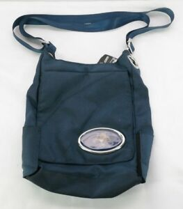 5f2e7068e2 Image is loading Florida-Panthers-Grommet-Cross-Body-Bag-Navy-Blue-