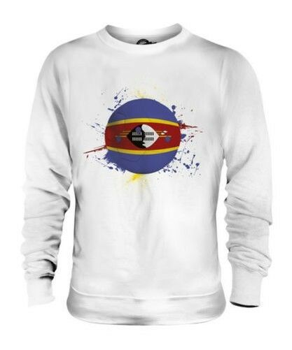 SWAZILAND FOOTBALL UNISEX SWEATER TOP GIFT WORLD CUP SPORT