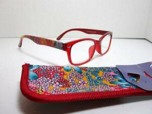 9bede9aa86b Image is loading Foster-Grant-OR-Eyesential-Reading-Glasses-with-Pouch-