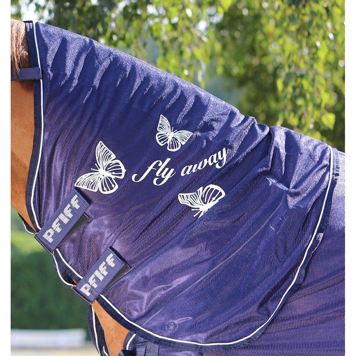 Pfiff Fliegen-Halsteil con Motivos de Mariposas - Azul - - - Footing a6e5fe