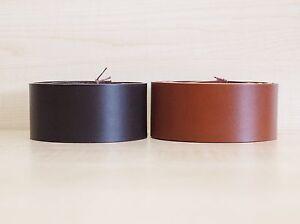veg leather belt blanks various colours 3 mm