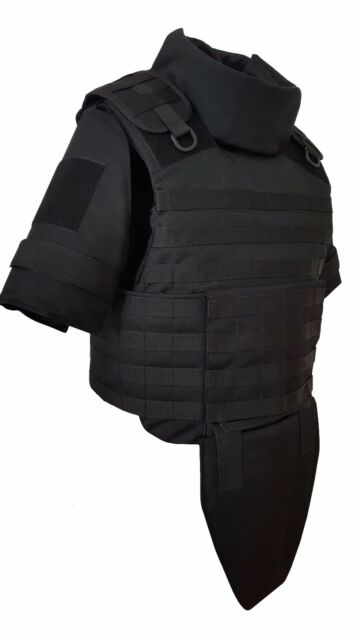 size L Green Olive Body Armor Plate Carrier Vest MOLLE