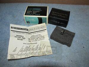 Vintage-SHURE-N91ED-High-Track-Phono-Phonograph-Stylus-w-Box-IOB-J0326