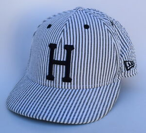 b0d05088621 Details about HUF Classic H DBC Skateboard Brand 7 1 4 NEW ERA Striped Fitted  Baseball Cap Hat