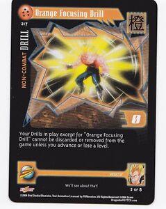 Orange Conference Drill CCG TCG Card DBGT Dragon Ball GT 5 Stars