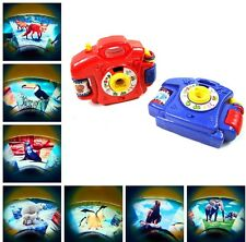 Projection Simulation Camera Educational Child Kds Toy Pretend Camera With Light