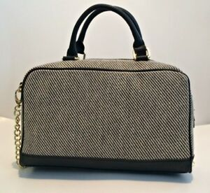 Image Is Loading Olivia Joy Black Amp White Textured Linen Convertible
