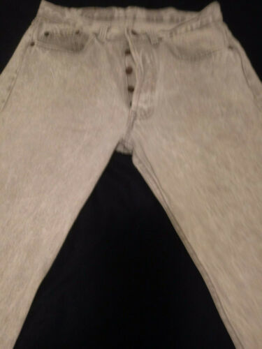 Vintage RED TAB Levis Acid Washed Smokey Gray Jean