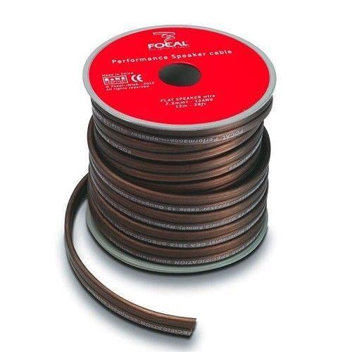 FOCAL PS25 FLAT CAVO per ALTOPARLANTI BOBINA da 12 metri /> 2,5 mm PVC