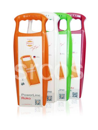 White,Green,Red,Orange Borner Slicers Roko Vegetable Shredder