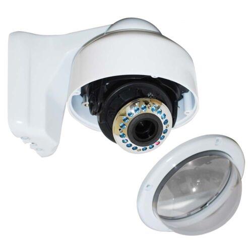 Dome Security Camera Outdoor 700TVL 17 IR LEDs w// SONY Effio CCD 3.5-8mm Len ac5