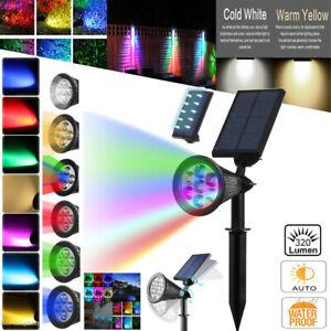 7-LED-Solar-Power-Garden-Lamp-Outdoor-Lawn-Landscape-Light-Waterproof-Spotlight