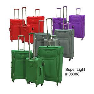 """E-Z Roll"" Brand Super Lightweight Luggage (3 Piece Set ..."