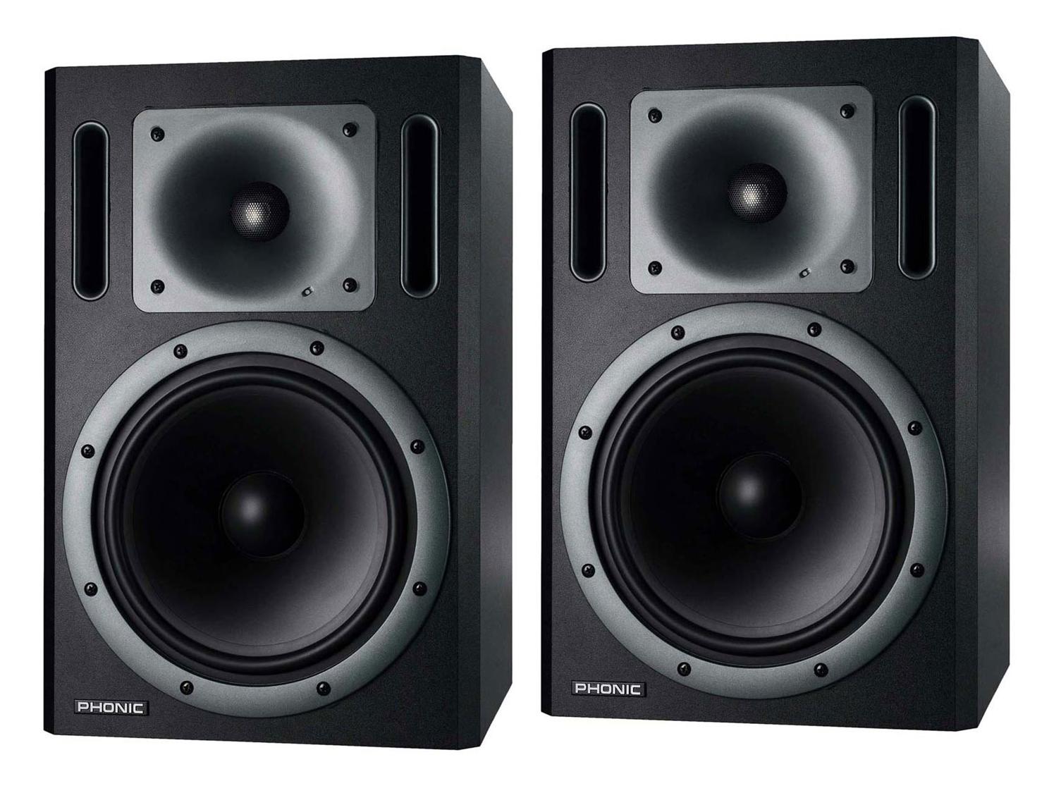 Studio monitors pair Bi