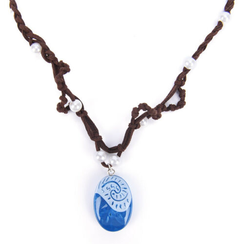 Girls Women Fashion Moana Necklace Cosplay Pendants Chain Jewelry Necklace $TER