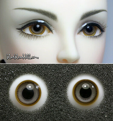 12mm two tone high quality glass bjd doll eyes dollfie iplehouse M-49 Ship US