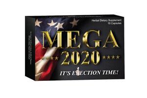 Mega 2020 Male Enhancement Pills Bigger Performance Boost Libido Drive 10 Pills!