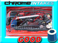 Red Blue 97-05 Jeep Wrangler Se/sahara/sport/rubicon 2.5l 4.0l Cold Air Intake