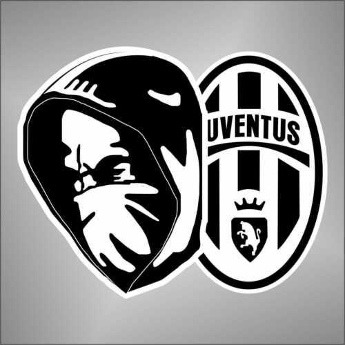 adesivo CALCIO FOOTBALL ULTRAS JUVE   sticker aufkleber pegatina