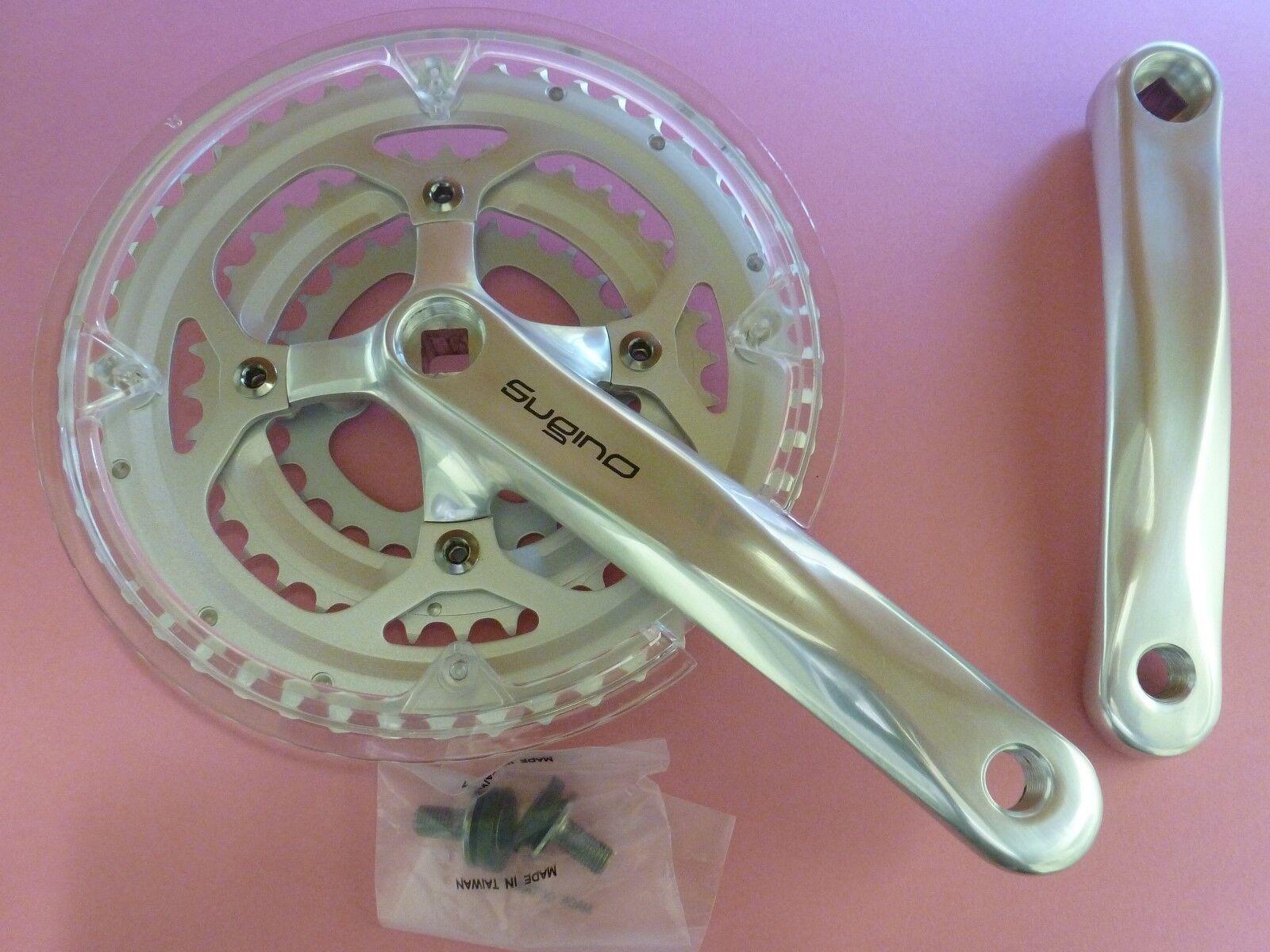 Sugino HX 1 bicycle chainset - 170mm  26.36.48