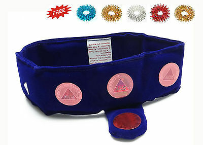 Magnetic Therapy Cervical / Neck Belt - Cervical Spondylitis +Free 5 Sujok Rings