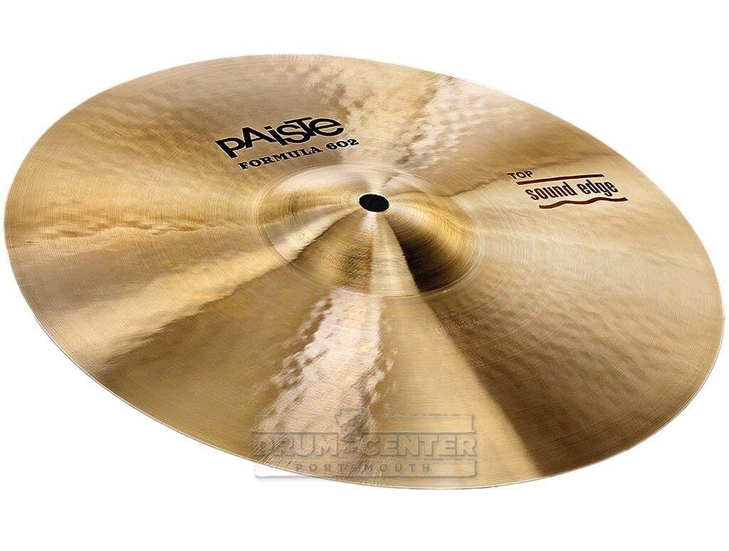 Paiste Formula 602 Sound Edge Hi Hat Cymbal Top Cymbal 14