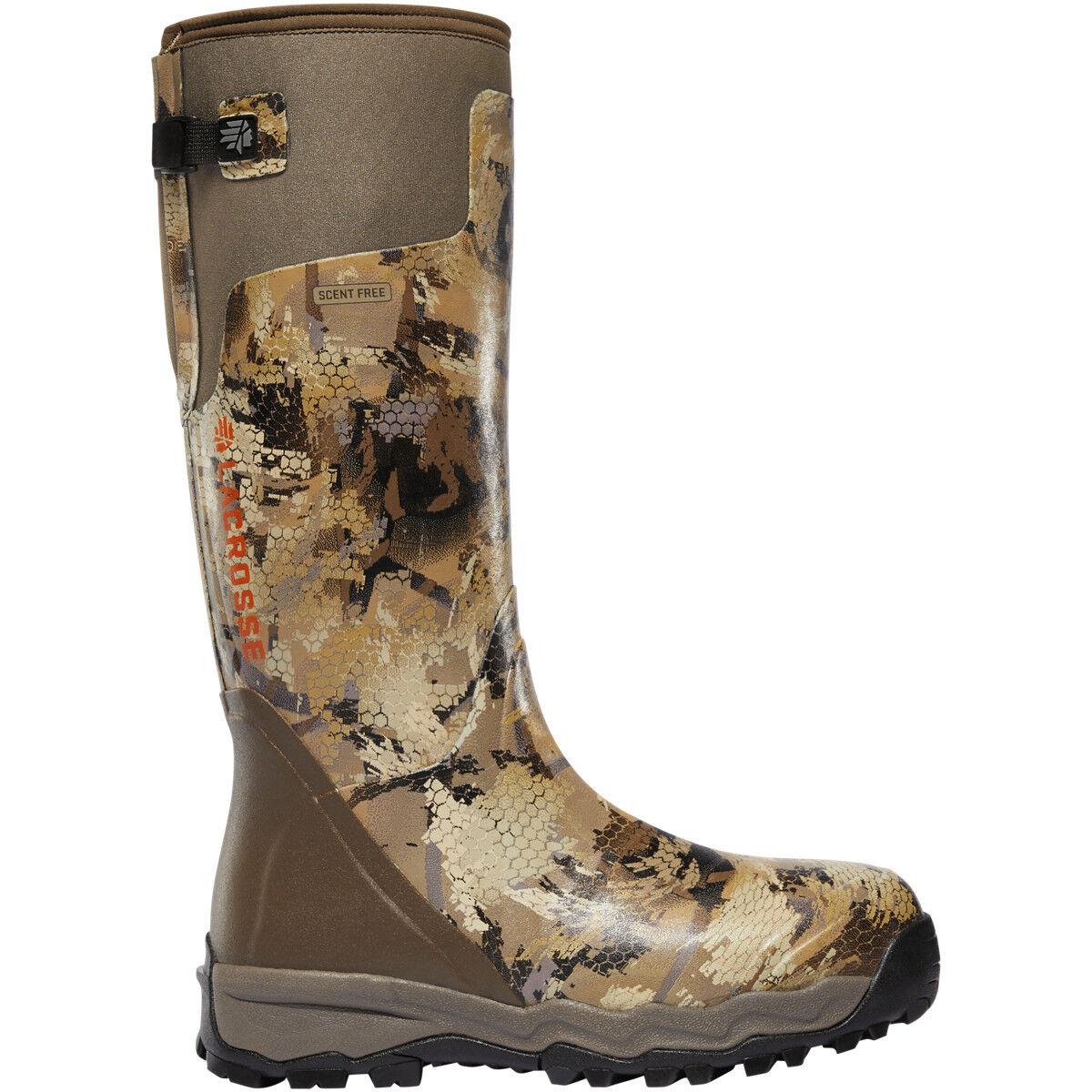 Lacrosse Men's 376010 Alphaburly Pro 18  Optifade Marsh Hunting shoes Boots