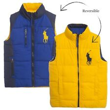 BNWT Ralph Lauren Medium M Boys Core Trek Gilet Bodywarmer 10-12 Polo RRP £130
