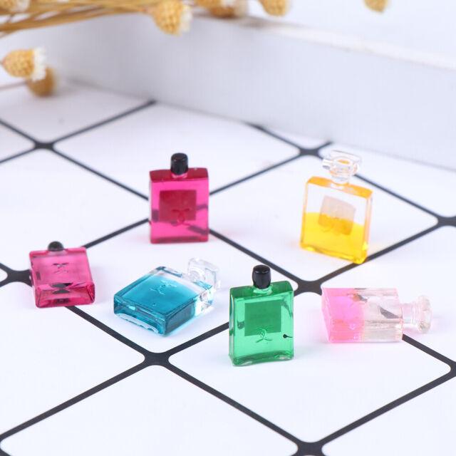 6 Bottles 1:12 Scale Dollhouse Miniature Furniture Perfume Decoration  TEOBFATA